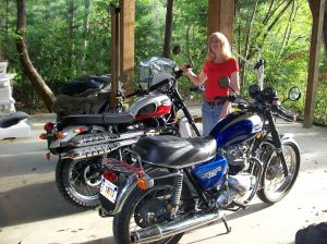 '82 and '07 Triumphs