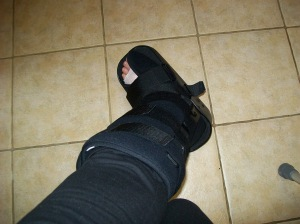 My new boot