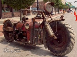 Tractor cycle
