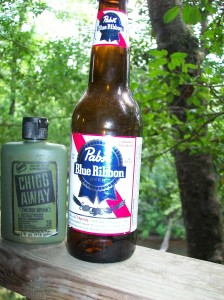 Chigg Away & PBR - don't leave home without them.